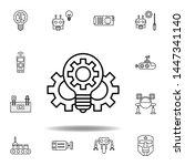 robotics innovation outline... | Shutterstock .eps vector #1447341140