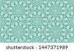 leaves pattern. endless...   Shutterstock .eps vector #1447371989