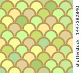seamless pattern from circles... | Shutterstock .eps vector #1447382840