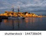 oslo harbor  norway | Shutterstock . vector #144738604