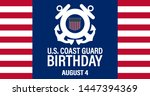 united states coast guard... | Shutterstock .eps vector #1447394369