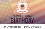 united states coast guard... | Shutterstock .eps vector #1447394399