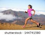 Female Running Athlete. Woman...