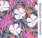 abstract seamless pattern with... | Shutterstock .eps vector #1447459046