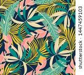 summer abstract seamless...   Shutterstock .eps vector #1447459103