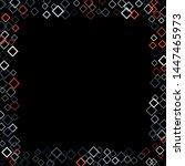 rhombus ornate minimal... | Shutterstock .eps vector #1447465973