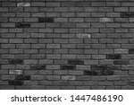 gray and black brick wall... | Shutterstock . vector #1447486190