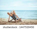 summer beach travel vacation...   Shutterstock . vector #1447520450