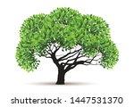 tree vector icon. logo design... | Shutterstock .eps vector #1447531370