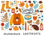 Vector Set Of Autumn Icons ...