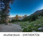 Picturesque Landscape On Mount...