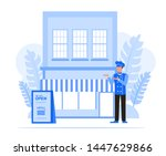 business people character... | Shutterstock .eps vector #1447629866