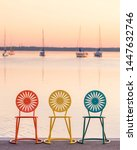 Madison Wisconsin Chairs on Lake Mendota