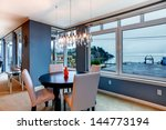 City Apartment Dining Room Wit...