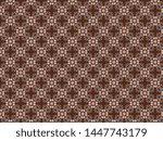 fleece blanket with a... | Shutterstock . vector #1447743179
