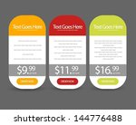 web banners for sale and... | Shutterstock .eps vector #144776488