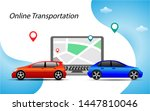 vector illustration of car... | Shutterstock .eps vector #1447810046
