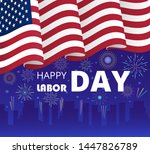 labor day poster or header for...