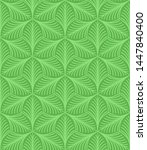 simple abstract leaves with... | Shutterstock .eps vector #1447840400