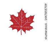 Maple Leaf Icon Design Vector