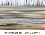 steel rod for construction job | Shutterstock . vector #144785944