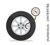 Tire Pressure Gauge  Manometer. ...
