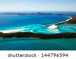 Whitehaven Beach Aerial View...