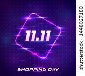 global shopping festival... | Shutterstock .eps vector #1448027180