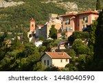 roquebrune cap martin  provence ... | Shutterstock . vector #1448040590