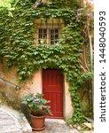 medieval village in roquebrune... | Shutterstock . vector #1448040593