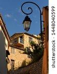 medieval village in roquebrune... | Shutterstock . vector #1448040599