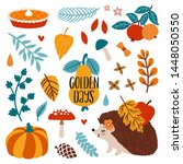Vector Autumn Set Of Icons ...