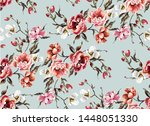 big pattern with classic... | Shutterstock .eps vector #1448051330