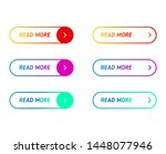 big collection buttons read...   Shutterstock .eps vector #1448077946