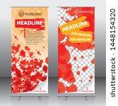 roll up banner design template ... | Shutterstock .eps vector #1448154320