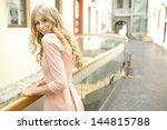 summer blonde girl | Shutterstock . vector #144815788