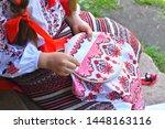 Girl Embroidery Rushnik.hands...