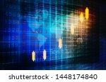 2d rendering stock market... | Shutterstock . vector #1448174840