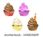 vector illustration of four... | Shutterstock .eps vector #144823609