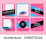 special offer banner template... | Shutterstock .eps vector #1448273126