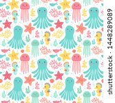 Seamless Vector Pattern With...