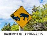 A Roadside Traffic Sign In...