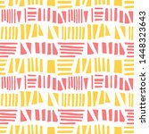 abstract seamless pattern of... | Shutterstock .eps vector #1448323643