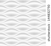 white seamless texture. wavy... | Shutterstock .eps vector #144832750