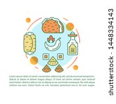 mexican cuisine article page...   Shutterstock .eps vector #1448334143