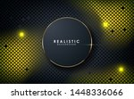 gray abstract dimension on dark ... | Shutterstock .eps vector #1448336066