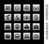 school icons   Shutterstock .eps vector #144834310