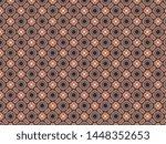 fleece linen with a pattern of... | Shutterstock . vector #1448352653