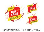 festive big sale  offer banner  ... | Shutterstock .eps vector #1448407469