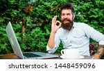 remote job. freelance... | Shutterstock . vector #1448459096